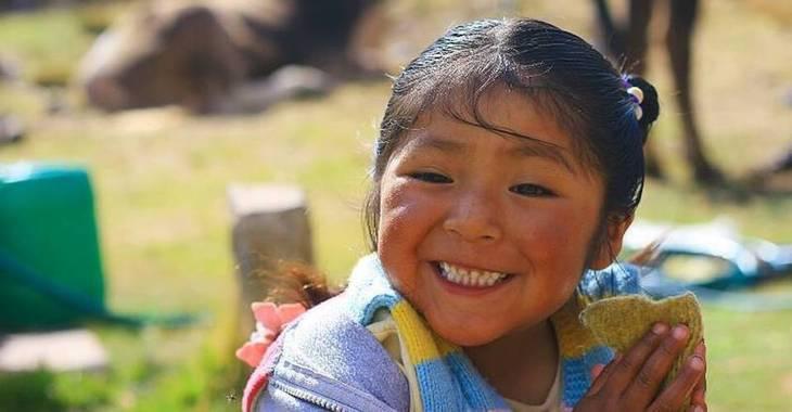 Spende für Waisenkinder in Bolivien